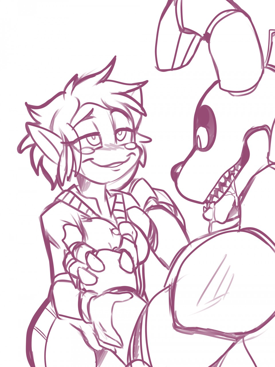 nights emi's at five freddy's Monster girl quest dragon pup