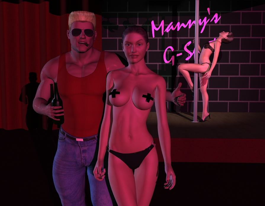 mod duke nude forever nukem Jessica from rick and morty