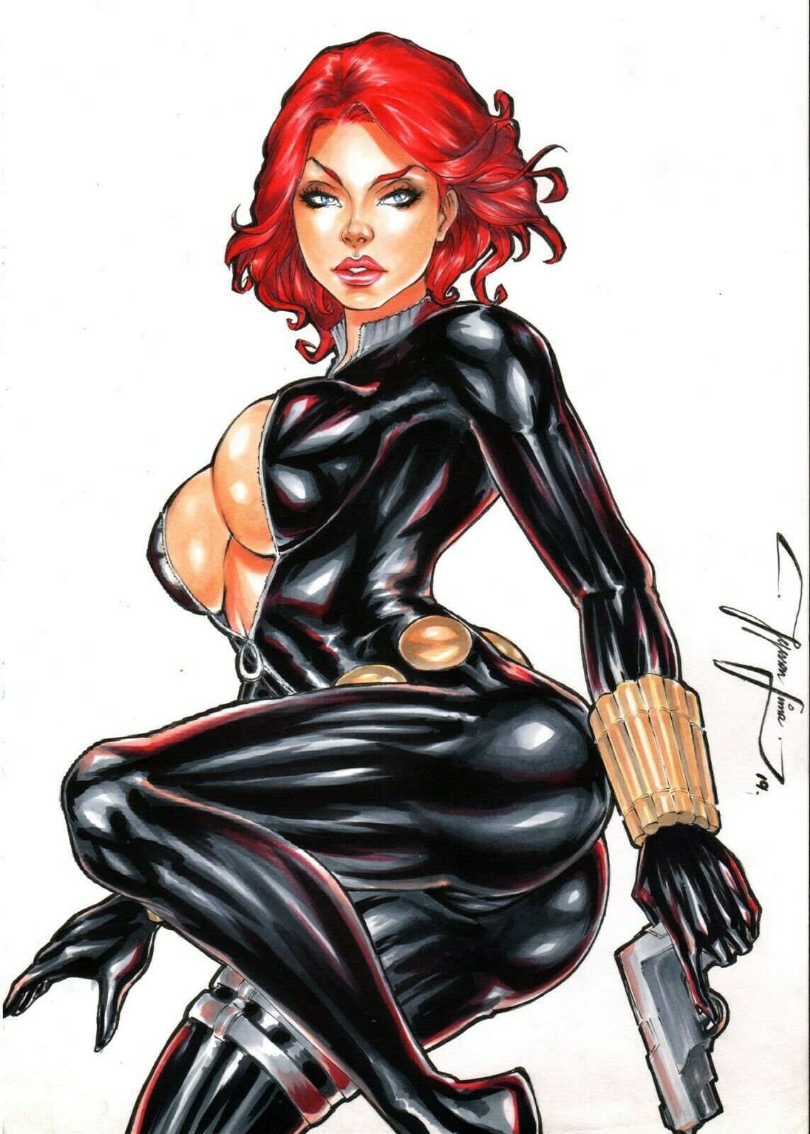 naked the widow avengers black Dead or alive 6 nudity