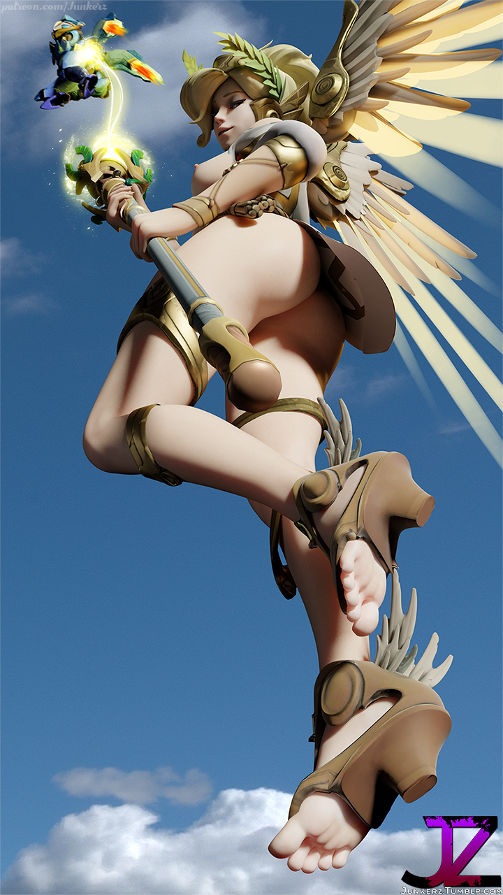 mercy victory winged The dragon prince