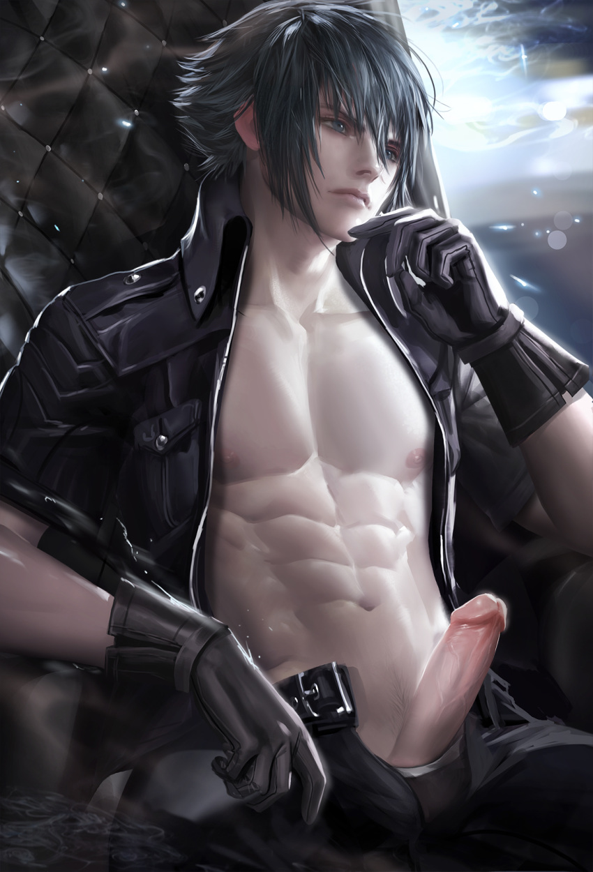 noctis lucis caelum red eyes Laz there goes the neighborhood