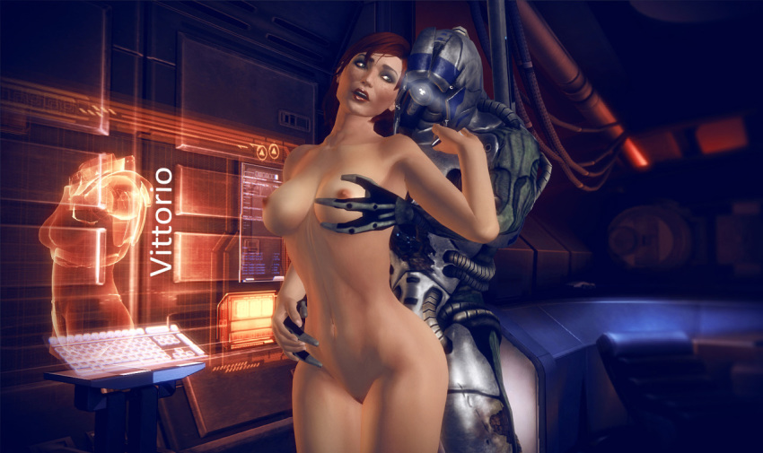 mass effect jack Balls deep in pussy gif