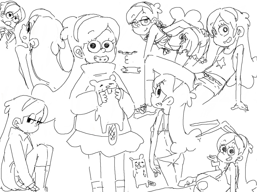 naked mabel falls gravity from Is this a zombie sera