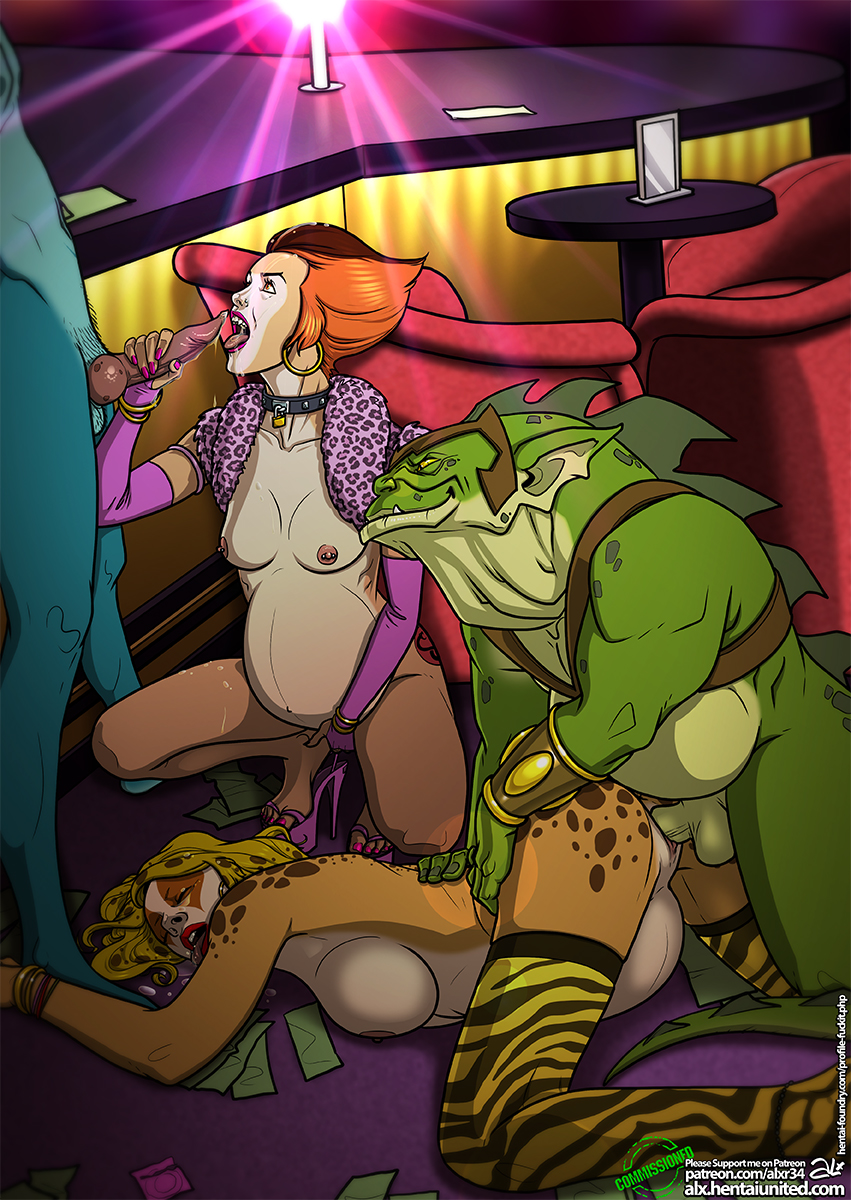 from-deepest-fathoms Rick and morty stripper dinosaur