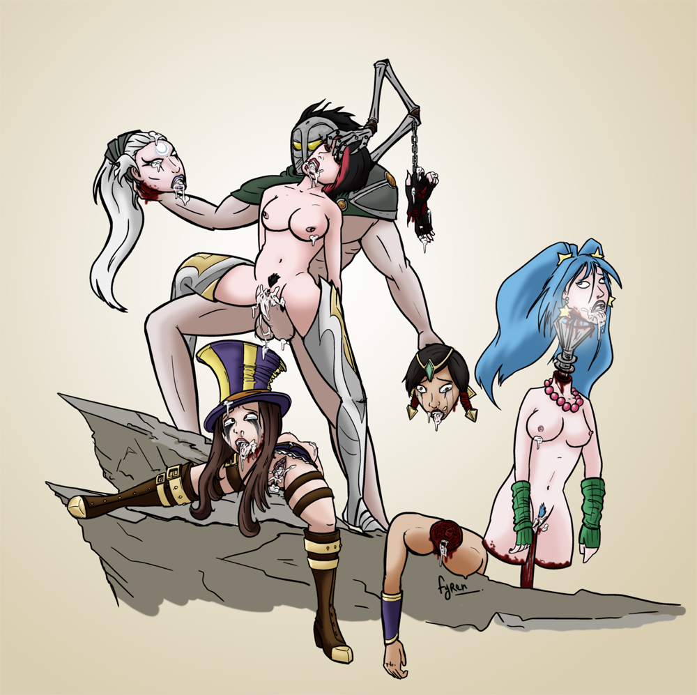 league legends of and sona ahri Rick and morty naked jessica
