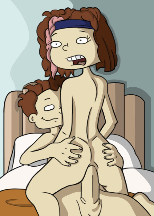 up all rugrats grown nude Blue pokemon with orange cheeks